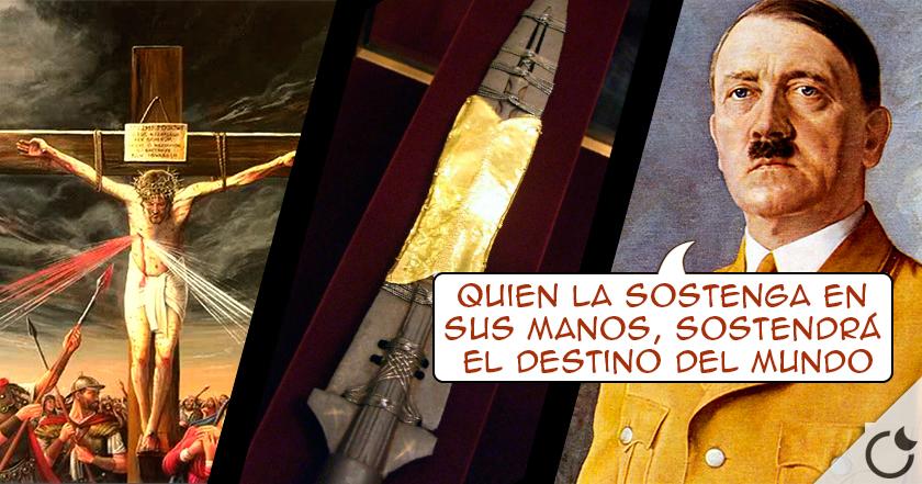 La lanza que ATRAVESÓ a CRISTO y con la que HITLER decía ser INVENCIBLE: La lanza de Longinos