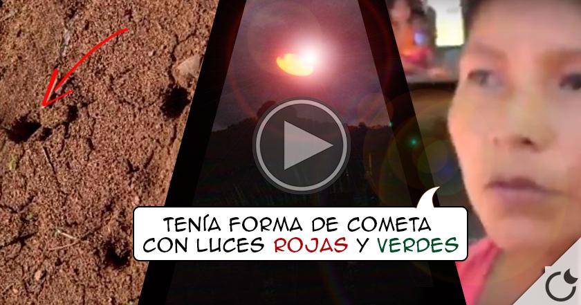 Increíble avistamiento OVNI en Perú REAFIRMA su EXISTENCIA nuevamente