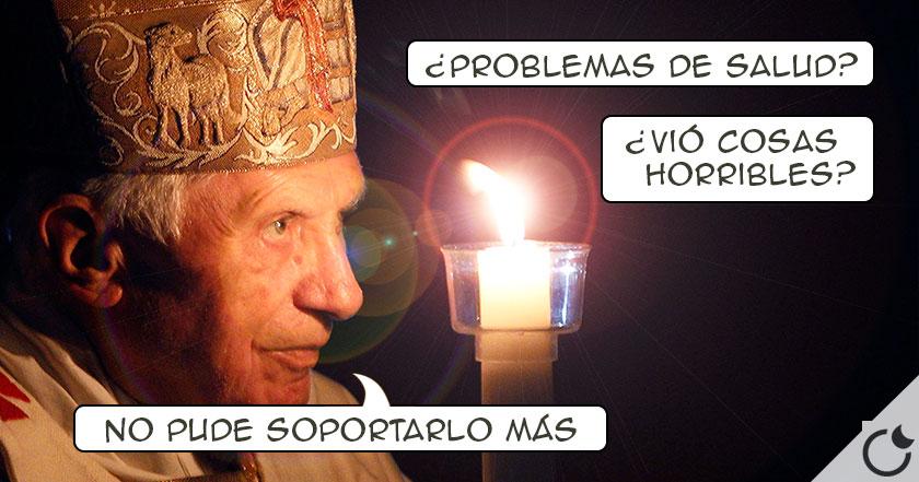 ¿POR QUÉ RENUNCIÓ realmente el Papa Benedicto XVI?