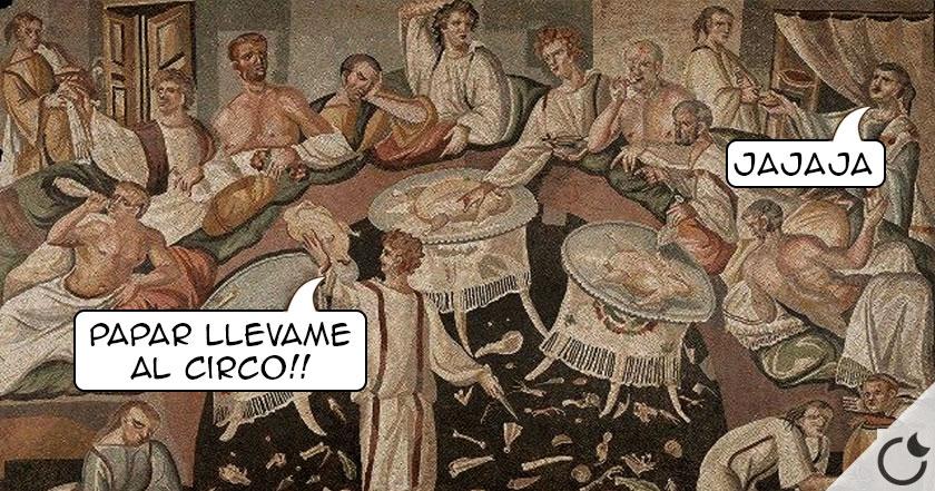 ¿De qué se REÍAN en la antigua ROMA? Descubre aquí los CHISTES que se contaban