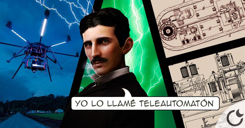 Tesla INVENTÓ LOS DRONES hace mas de 100 años. ¿No te lo crées? Pues infórmate AQUI