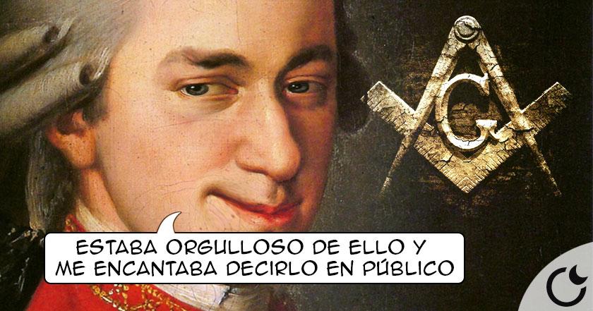 Mozart era un MASÓN orgulloso y DIFUNDÍA SUS CONOCIMIENTOS al mundo