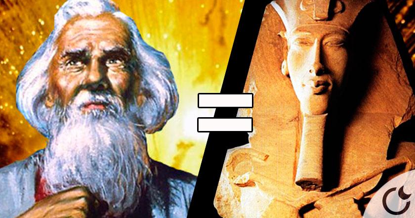 ¿Abraham y Akenatón la MISMA persona? Estudios recientes lo AFIRMAN