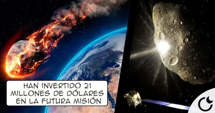 Un ASTEROIDE amenaza la TIERRA. NASA prepara una misión para DESVIARLO