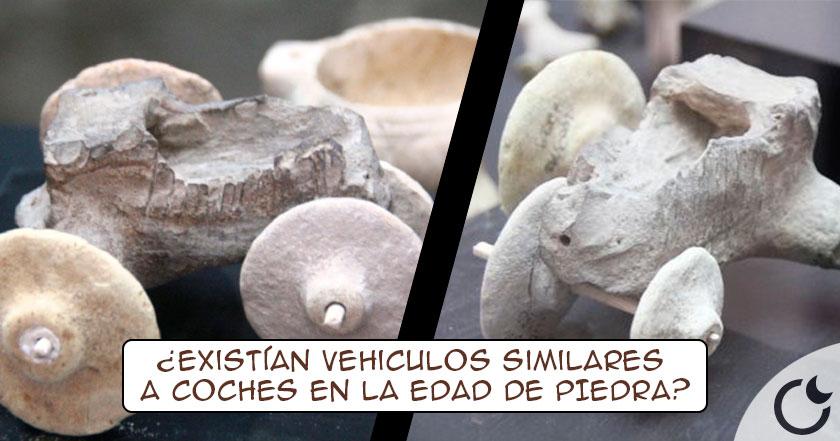Coche de juguete con 7500 años encontrado. La evidencia MAS TEMPRANA de la rueda documentada