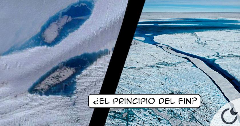 Aparecen LAGOS misteriosos en la Antártida que ATERRORIZA a los EXPERTOS