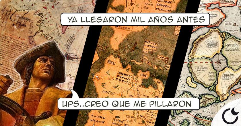 8 MAPAS que demuestran LA FARSA DEL DESCUBRIMIENTO DE AMÉRICA