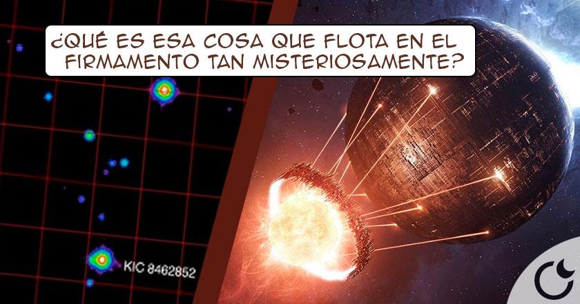 Astrónomos creen haber encontrado una GIGANTESCA CONTRUCCIÓN ESPACIAL EXTRATERRESTRE