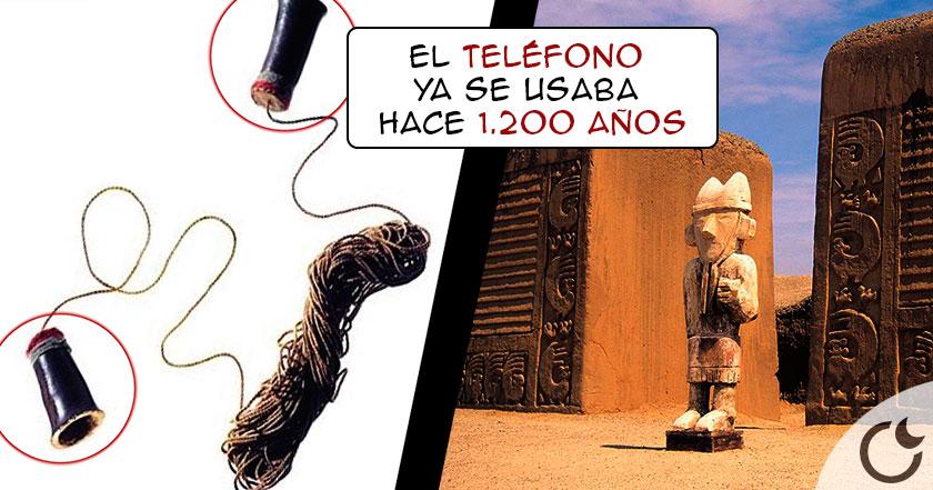 ¿Ya existía TELEFONO hace 1.200 años? Parece que SI y ha sido hallado en Perú