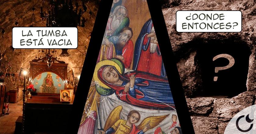 La TUMBA de María está VACÍA ¿Dónde fue ENTERRADA entonces?