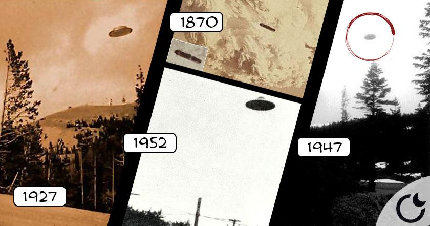 Primeras fotos de OVNIS de la HISTORIA puedes verlas AQUÍ. Siempre han EXISTIDO