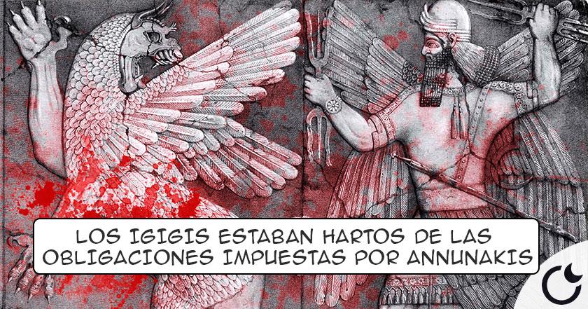 Los IGIGI: DIOSES que se ENFRENTARON contra los ANUNNAKI