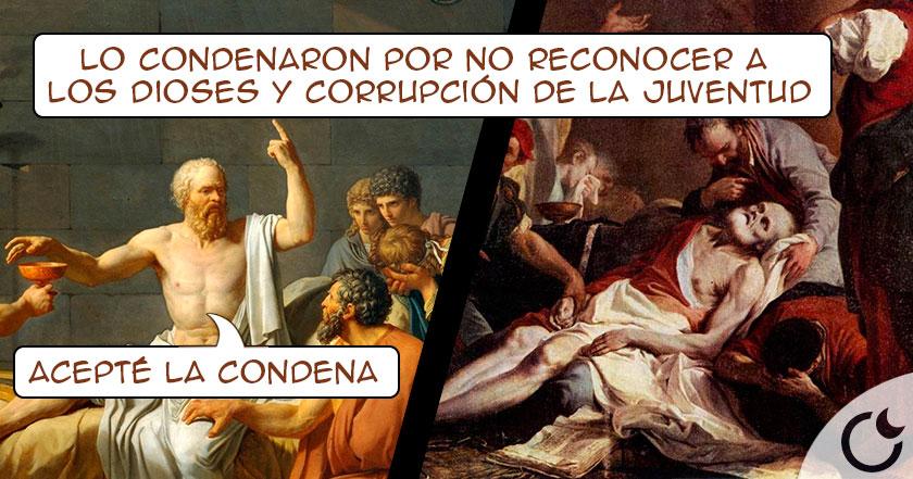La INJUSTA condena de Sócrates que lo llevó A LA MUERTE por «CORROMPER» mentes JÓVENES
