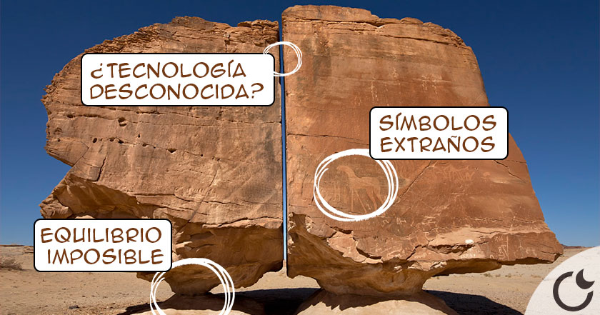 """""""Al naslaa"""" La roca en PERFECTO equilibrio y corte IMPOSIBLE ¿OTRA HUMANIDAD más avanzada?"""