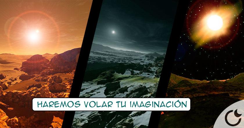 Descubre aqui los AMANECERES en los planetas y las lunas del sistema solar