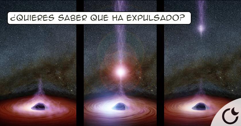 Un agujero negro EXPULSA PARTE DE UNA GALAXIA y RIDICULIZA las teorías del ser humano