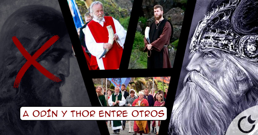 Islandia se OLVIDA del CRISTIANISMO y vuelve a sus DIOSES VIKINGOS