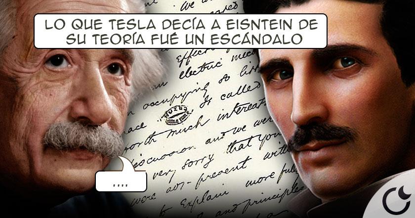 La correspondencia entre EINSTEIN y TESLA que nadie CONOCÍA y aquí la REVELAMOS