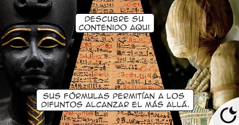 El famoso LIBRO DE LOS MUERTOS egipcio.¿Qué ERA? ¿Para qué SERVÍA? Descúbrelo AQUI