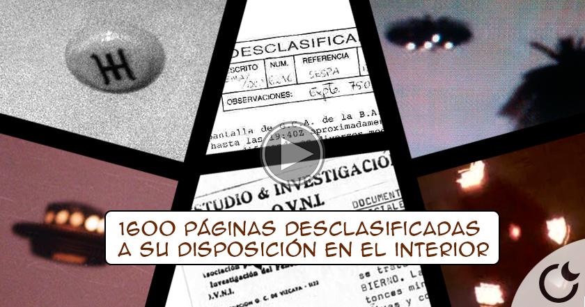 Los archivos secretos del Ejército del Aire sobre OVNIS son DESCLASIFICADOS. Su existencia ha sido RECONOCIDA