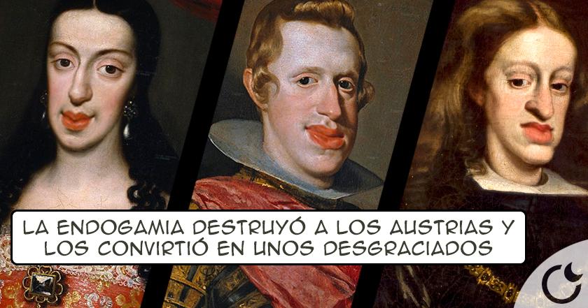 Las ENFERMEDADES y DEFORMIDADES de los reyes de España por la ENDOGAMIA en la historia