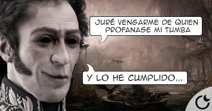 La MALDICIÓN que Simón Bolívar echó a los que PROFANARON su tumba. Toda la historia AQUÍ