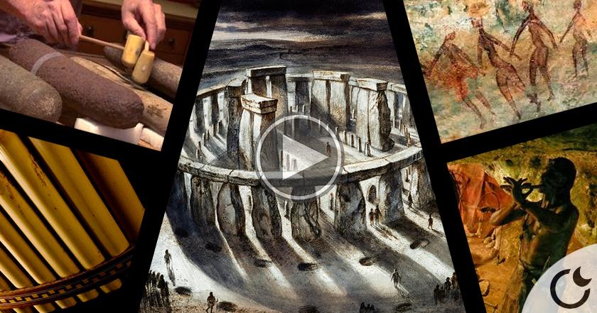 STONEHENGE también era un INSTRUMENTO MUSICAL y ASÍ SONABA hace 4500 años