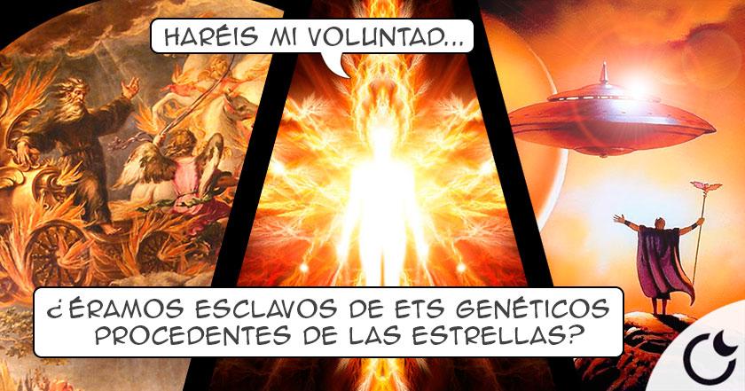 """¿Fue YAHVÉ un """"Dios"""" extraterrestre que MANIPULÓ A LA HUMANIDAD?"""