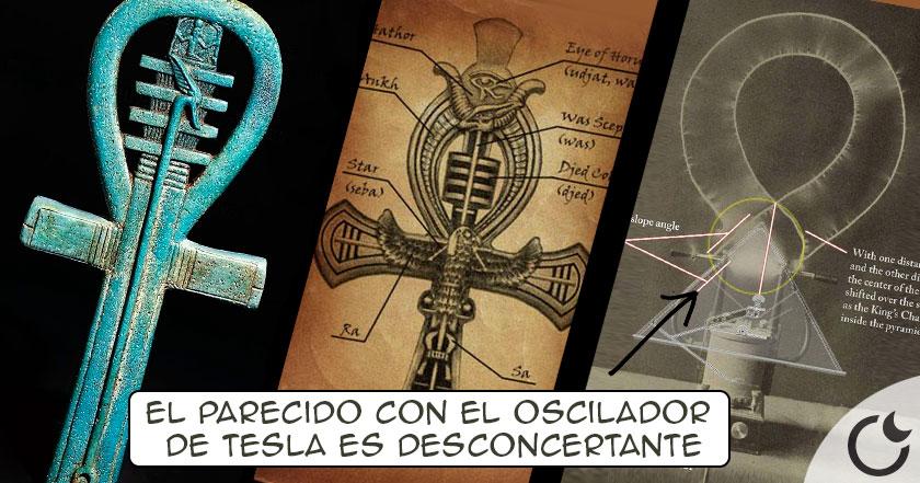 ¿Es la cruz Egípcia el ORIGEN del uso del ELECTROMAGNETISMO en el antíguo Egipto?