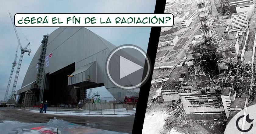 La MEGAESTRUCTURA que ACABARÁ al fín CON LA RADIACIÓN en Chernobyl COMIENZA su misión