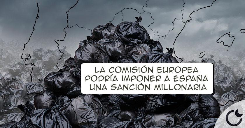 España se AHOGA en SU PROPIA BASURA y la U.E. da un ULTIMATUM