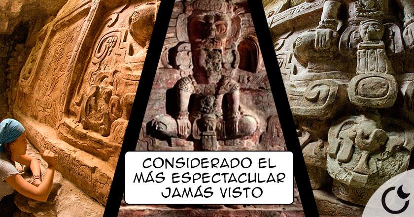 La ESCULTURA maya MÁS ESPECTACULAR por fin hallada en Guatemala