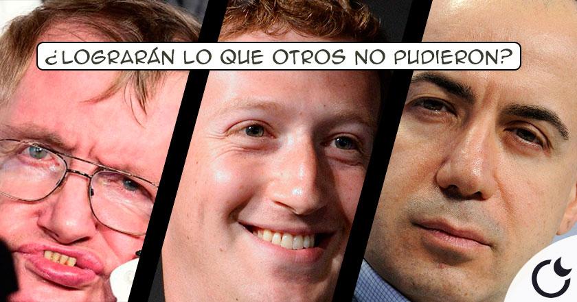 El CREADOR de Facebook, Yuri Milner y Stephen Hawking se unen para buscar VIDA ETs