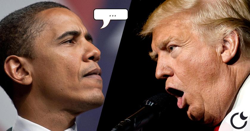 ¿QUÉ OPINA Barack Obama sobre Donald Trump?