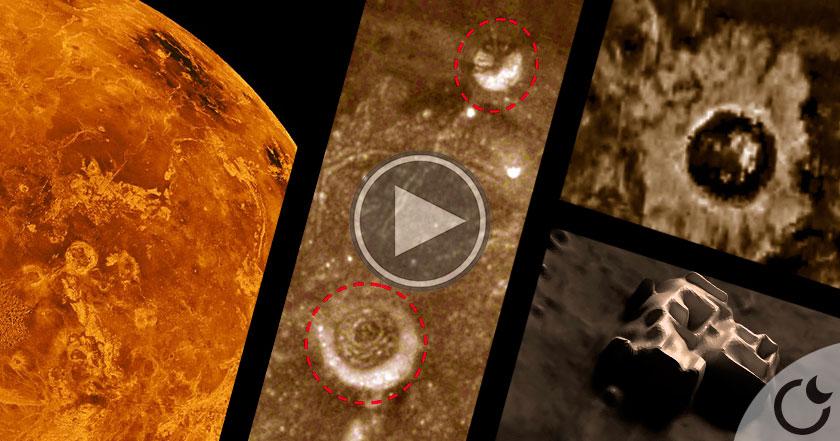 """¿De verdad hay enormes CIUDADES extraterrestres en VENUS? Aquí las """"EVIDENCIAS"""""""