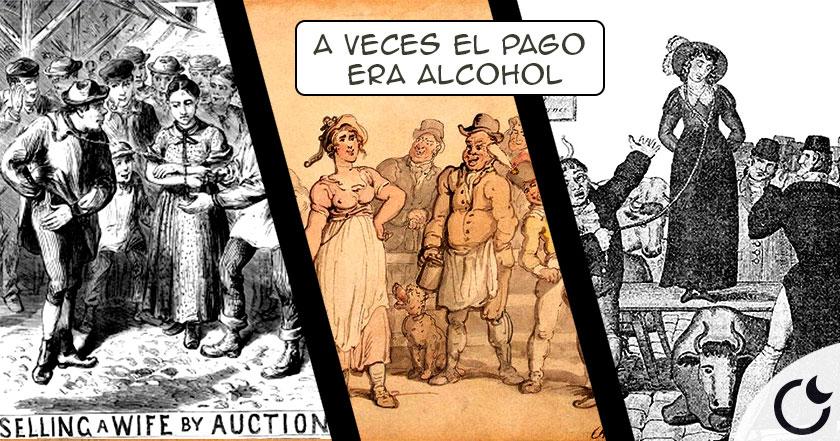 Los ingleses VENDÍAN a sus ESPOSAS en el mercado en los siglos XVII-XIX