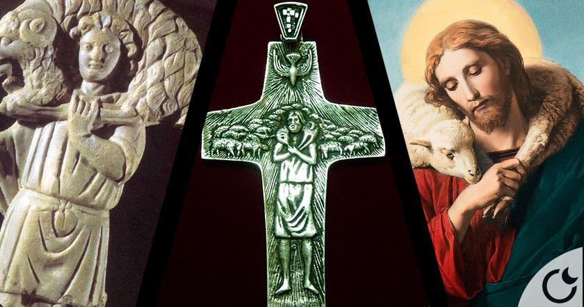 ¿Representa la cruz del Papa al dios PAGANO Mithra y NO A JESÚS? Parece que SI