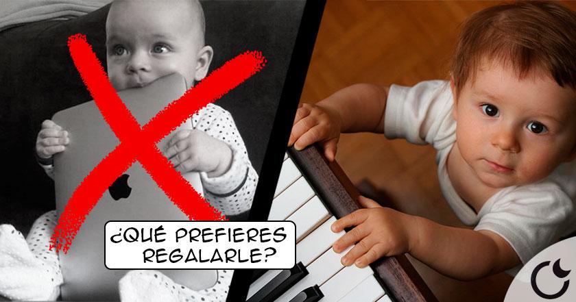 Si quiere un hijo LISTO, NO le de un SMARTPHONE dele UN PIANO