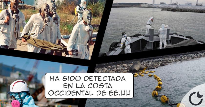 La RADIACIÓN de Fukushima a las costas de EE.UU. HA LLEGADO…¿Será una AMENAZA?