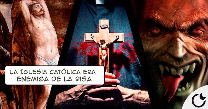 La Iglesia CATÓLICA medieval ERRADICÓ LA RISA por que era del DIABLO