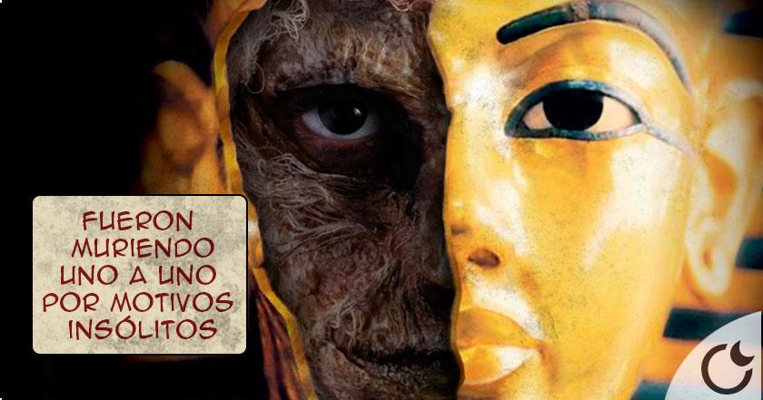 La MALDICIÓN de Tutankamón que ACABÓ con sus descubridores. Conócela AQUI