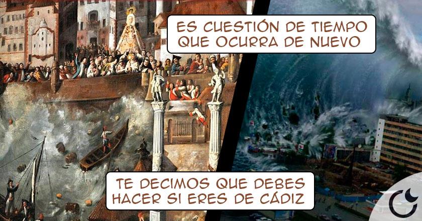 Descubre el Tsunami que ARRASÓ CÁDIZ en 1755 y llegó HASTA SEVILLA