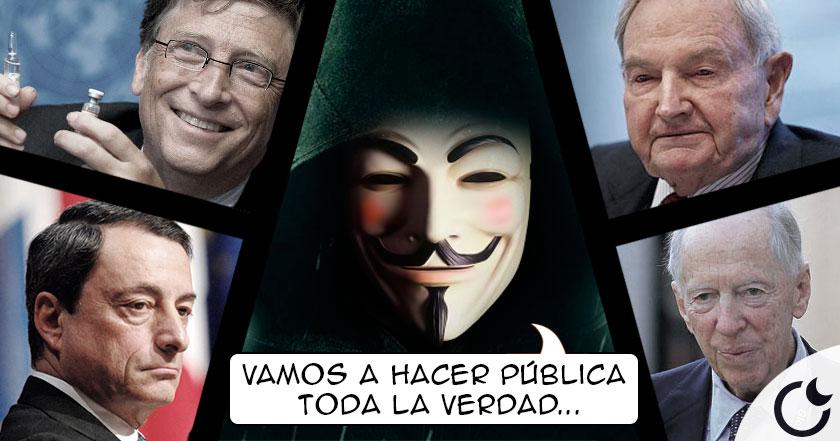 Anonymus HACKEA la web del club BILDENBERG y amenaza al Nuevo Orden Mundial CON LA VERDAD