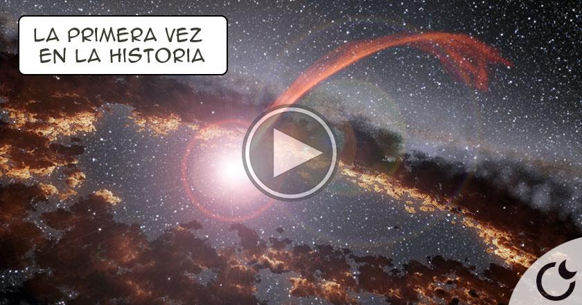 Estrella es ABSORBIDA por un Agujero Negro y la NASA lo CAPTURA
