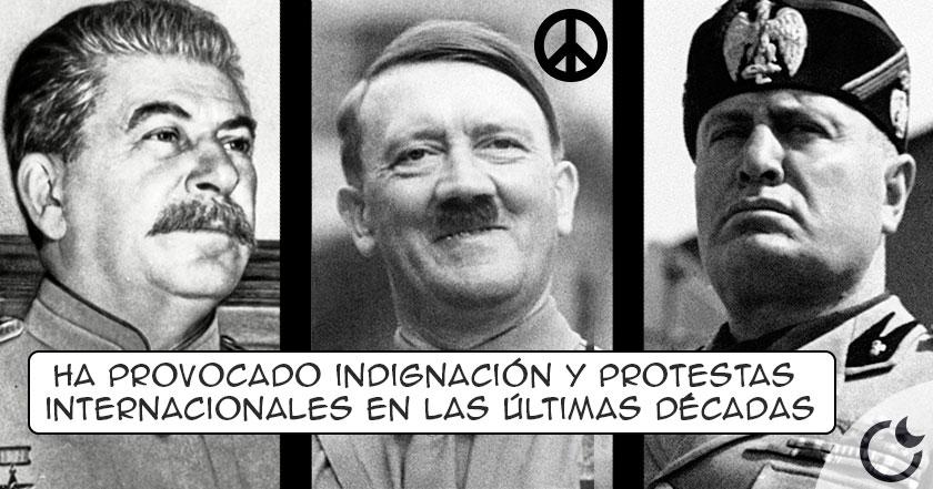 HITLER, STALIN y MUSSOLINI estuvieron nominados al NOBEL DE LA PAZ