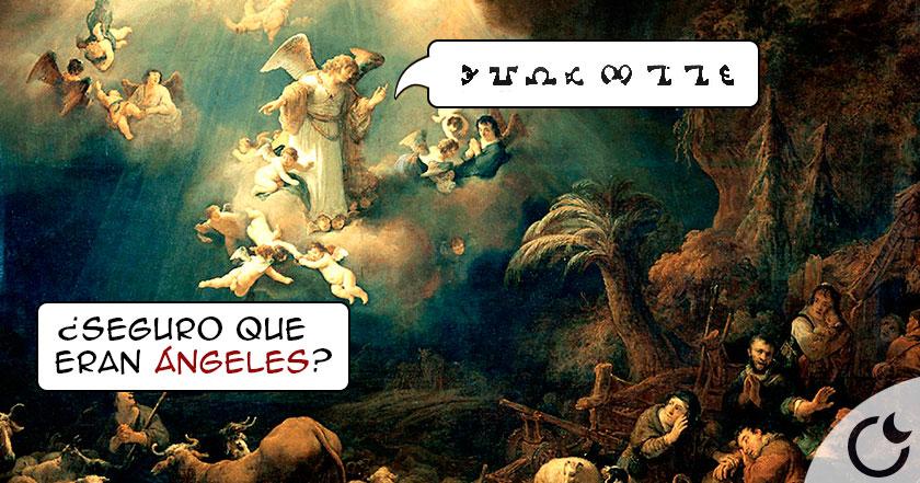 Enoquiano: ¿lengua perdida de los Ángeles o de los «DIOSES» instructores?