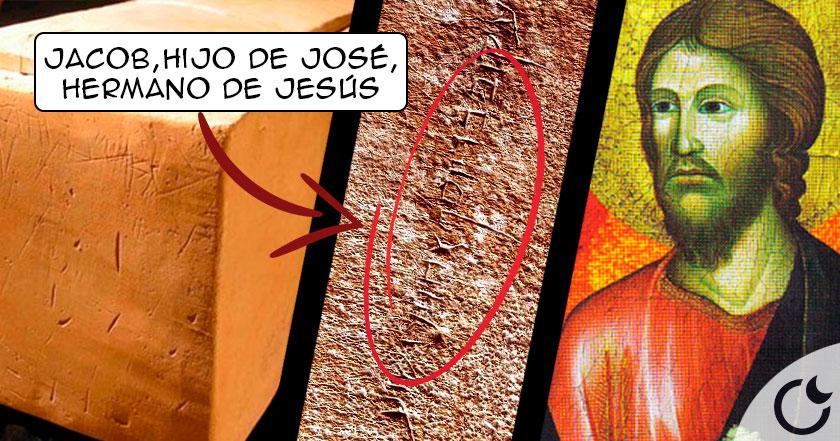 El osario de Santiago, HERMANO de JESÚS y única PRUEBA real de su existencia.