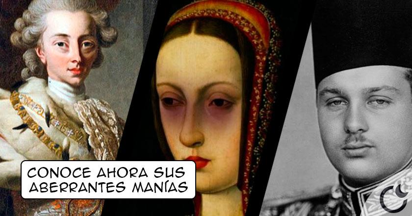 10 hábitos REPUGNANTES que la realeza tenía en el Pasado.