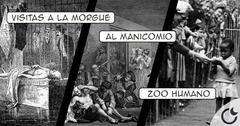 Los CRUELES Y MACABROS entretenimientos DOMINICALES del XIX en EUROPA