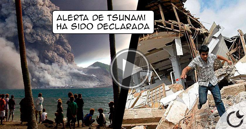 Terremoto de 8,0 sacude Papúa Nueva Guinea